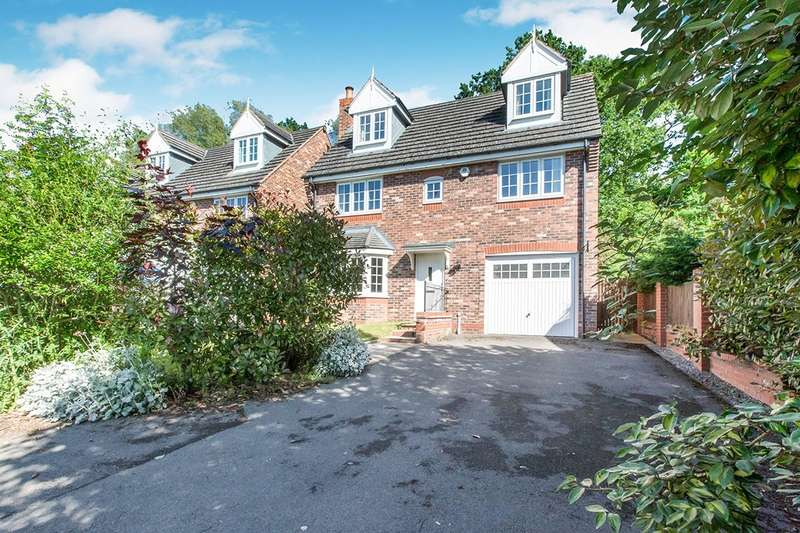 5 Bedrooms Detached House for sale in Malhamdale Road, Congleton, Cheshire, CW12