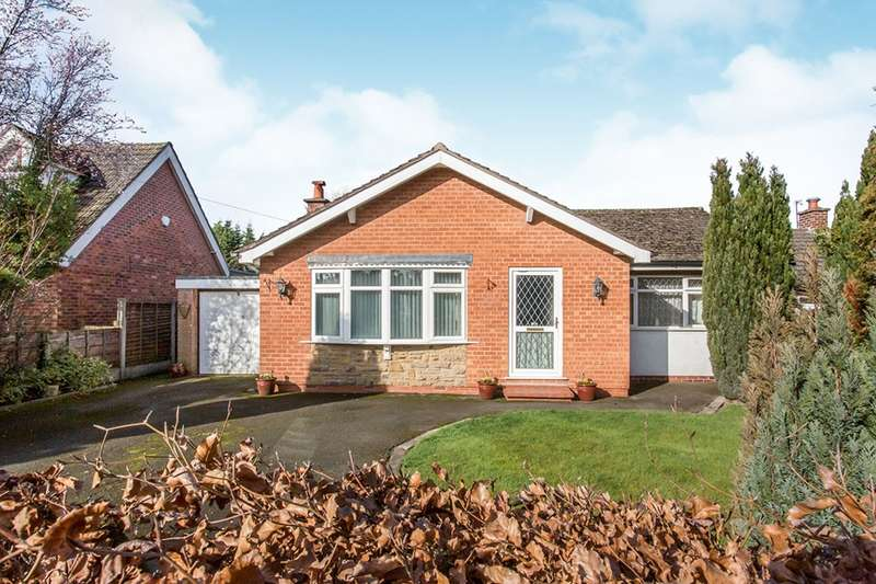 2 Bedrooms Detached Bungalow for sale in Greenacres Common Lane, Lach Dennis, Northwich, Cheshire, CW9