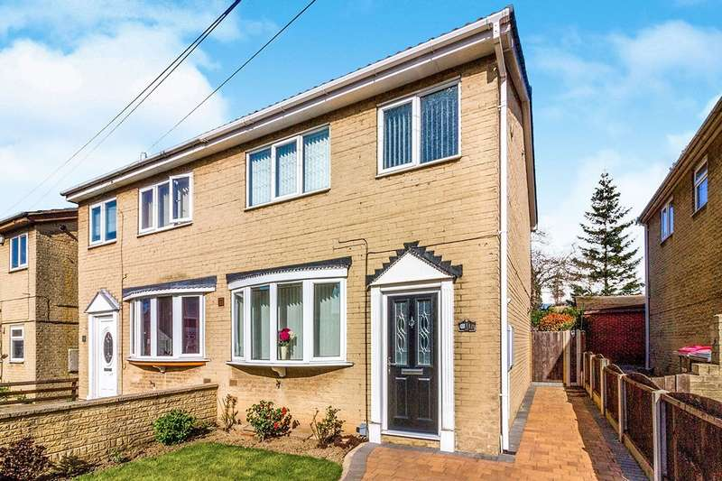 3 Bedrooms Semi Detached House for sale in Middle Lane, Clifton, Rotherham, South Yorkshire, S65