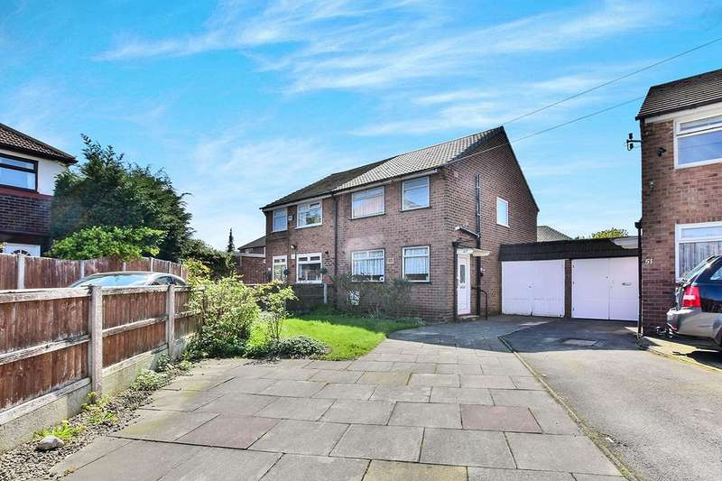 3 Bedrooms Semi Detached House for sale in Wolseley Road, SALE, Cheshire, M33