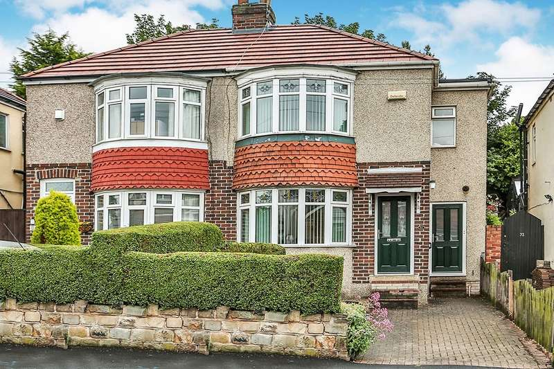 3 Bedrooms Semi Detached House for sale in Carrfield Road, Sheffield, S8