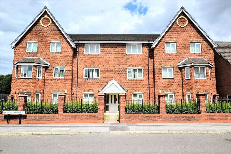 2 Bedrooms Flat for sale in Kingfisher Drive, Wombwell, Barnsley, S73 0UX