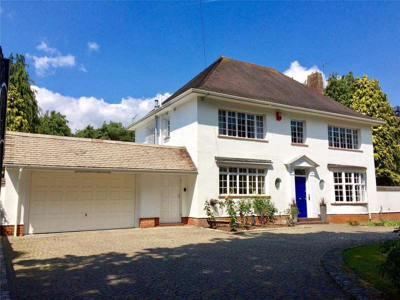 4 Bedrooms Detached House for sale in Glenferness Avenue, Talbot Woods, Bournemouth, BH3