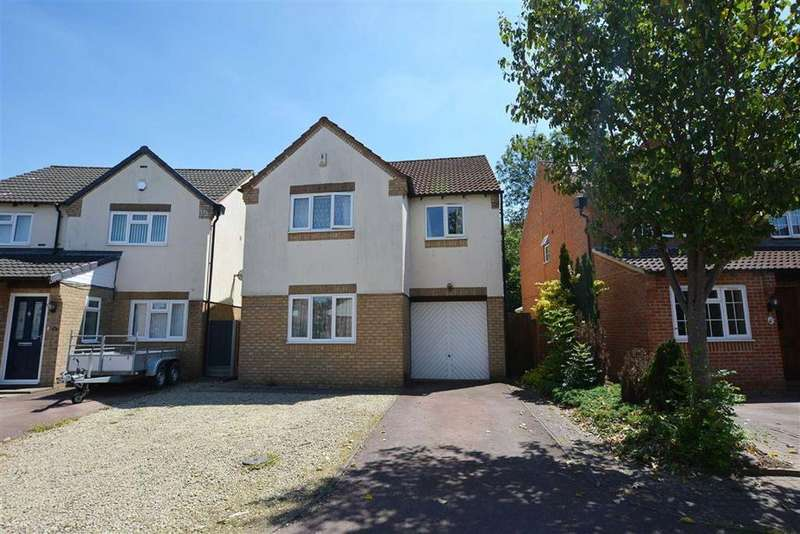 4 Bedrooms Detached House for sale in Hillcot Close, Quedgeley