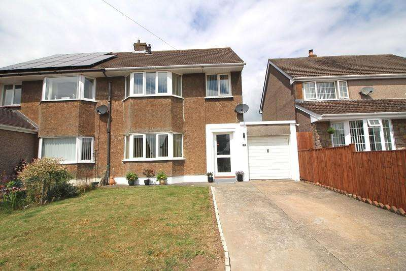 3 Bedrooms Semi Detached House for sale in Churchfield Avenue, Caldicot, Monmouthshire. NP26 4ND
