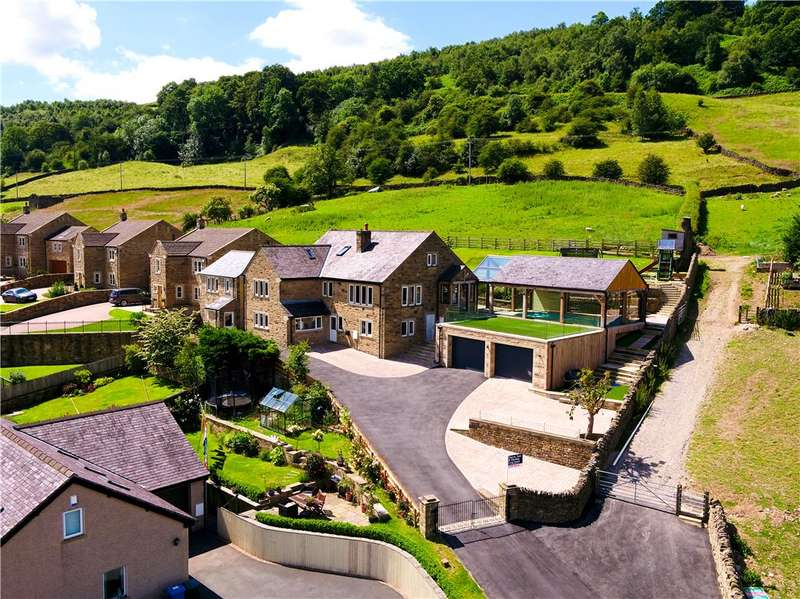 5 Bedrooms Detached House for sale in High View, Windle Lane, Cononley, Keighley