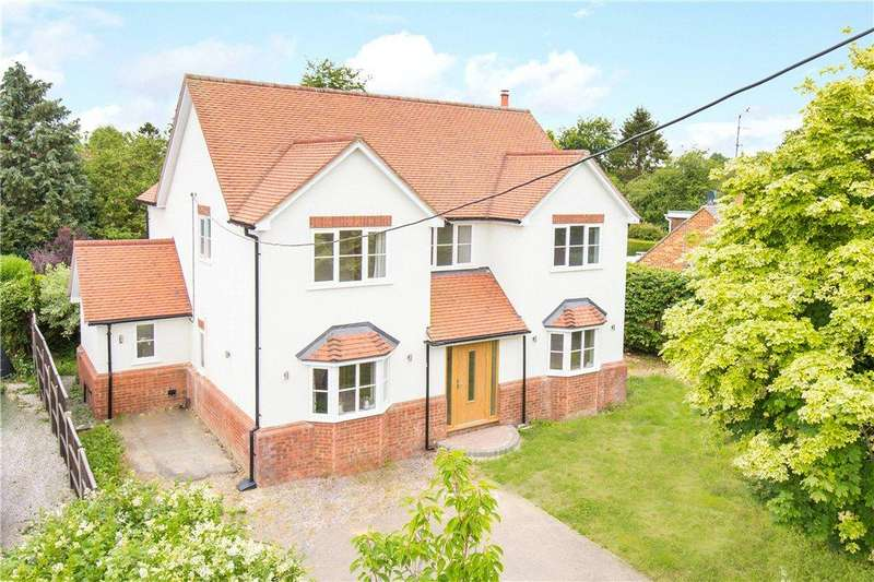 4 Bedrooms Detached House for sale in Manor Road, Towersey, Thame, Oxfordshire