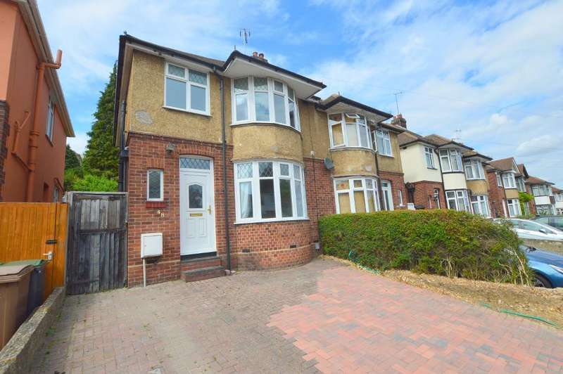 3 Bedrooms Semi Detached House for sale in Meyrick Avenue, South Luton, Luton, Bedfordshire, LU1 5JR
