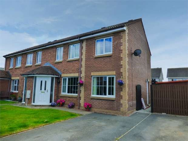 3 Bedrooms Semi Detached House for sale in Church Meadows, Great Broughton, Cockermouth, Cumbria