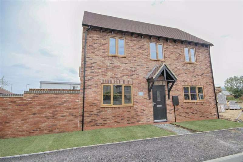 3 Bedrooms Semi Detached House for sale in Hillview Close, Bishops Cleeve, Cheltenham, GL52