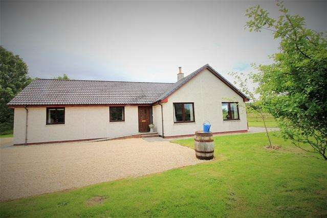 3 Bedrooms Detached Bungalow for sale in Achagour, Ardclach, Nairn