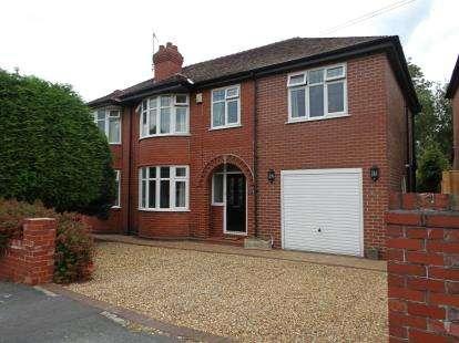 4 Bedrooms Semi Detached House for sale in Denbury Avenue, Stockton Heath, Warrington, Cheshire