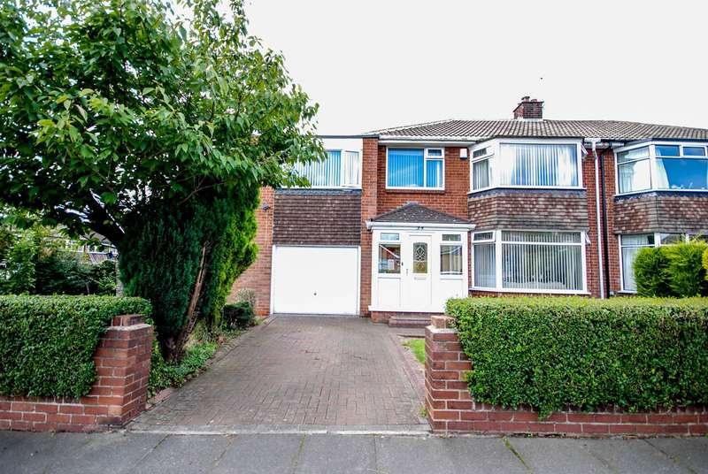 5 Bedrooms Semi Detached House for sale in Briardene Crescent, Kenton Park