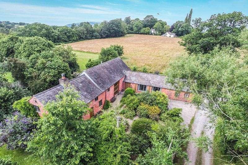 5 Bedrooms Detached House for sale in Llanvapley, Abergavenny