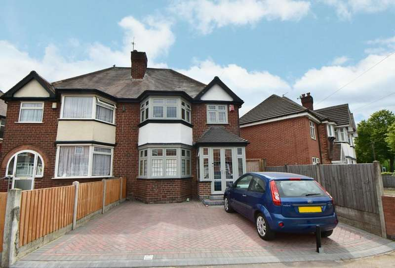 3 Bedrooms Semi Detached House for sale in Mansfield Road, Yardley