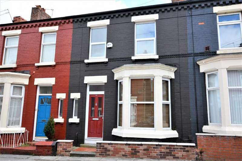 3 Bedrooms Terraced House for rent in Norris Green Road, West Derby, Liverpool L12 8QG