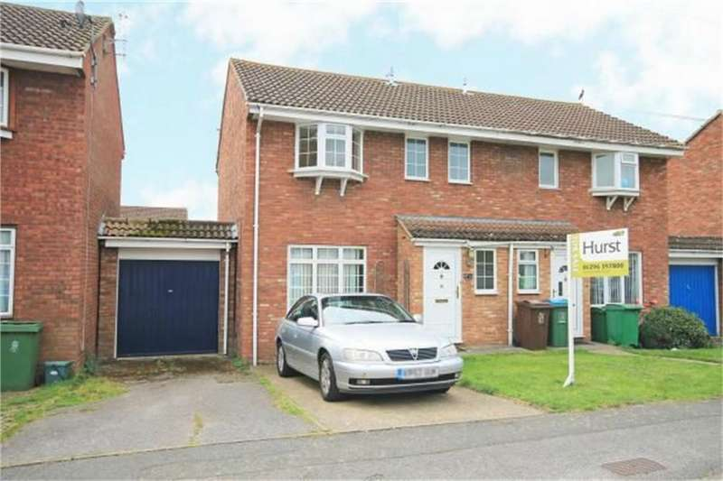 3 Bedrooms Semi Detached House for sale in Rembrandt End, Aylesbury, Buckinghamshire
