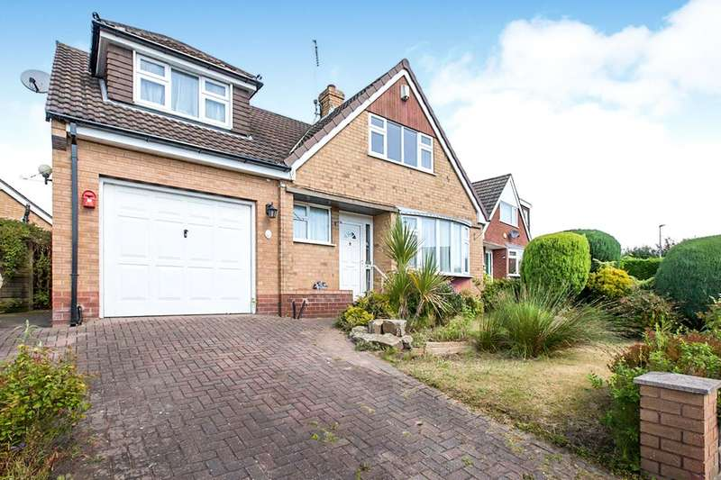 3 Bedrooms Detached House for sale in Coldmoss Drive, Sandbach, Cheshire, CW11