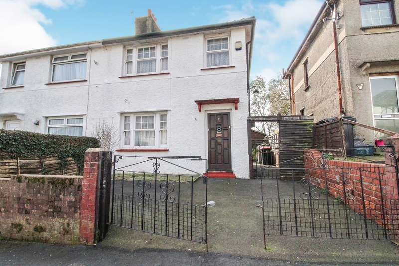 3 Bedrooms Semi Detached House for sale in Lodge Avenue, Caerleon, Newport, NP18