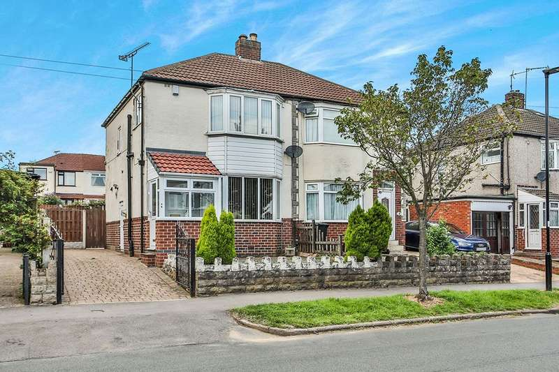 3 Bedrooms Semi Detached House for sale in Gleadless Avenue, Sheffield, South Yorkshire, S12