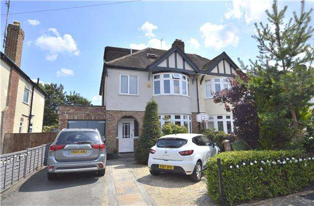 4 Bedrooms Semi Detached House for sale in Eldon Avenue, CHELTENHAM, Gloucestershire, GL52 6TZ