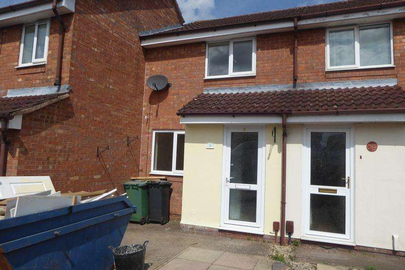 2 Bedrooms Terraced House for sale in GREENHILL COURT, TUFFLEY, GLOUCESTER GL4 0DR