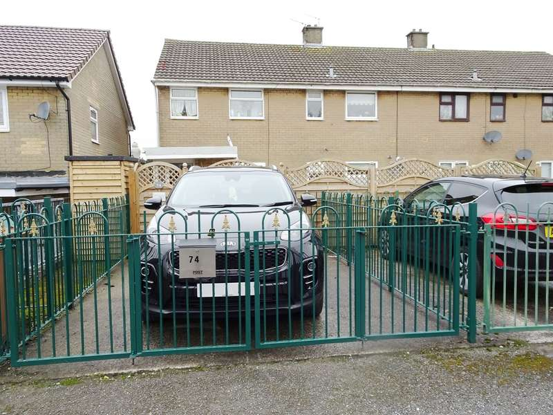 2 Bedrooms Ground Flat for sale in Phillips Walk, Rhymney, Tredegar