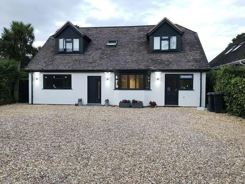 5 Bedrooms Detached Bungalow for sale in Firs Glen Road, Verwood, BH31
