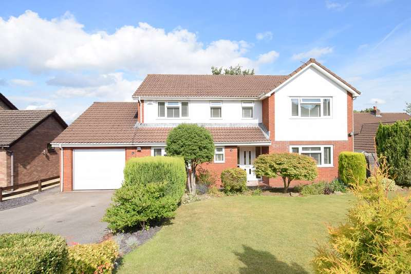 4 Bedrooms Detached House for sale in Orchid Court, Ty Canol, Cwmbran, NP44