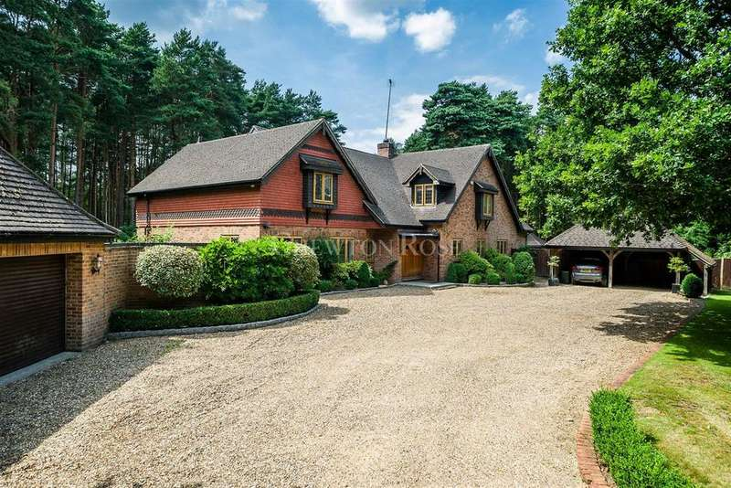 5 Bedrooms Detached House for sale in Birch Lane, Ascot SL5