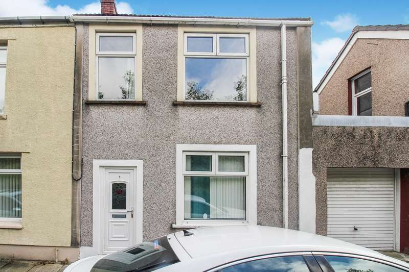 2 Bedrooms End Of Terrace House for sale in Western Terrace, Ebbw Vale, NP23