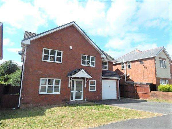 5 Bedrooms Detached House for sale in Beech Tree Crescent, Tanglewood, Blaina, NP13 3JA