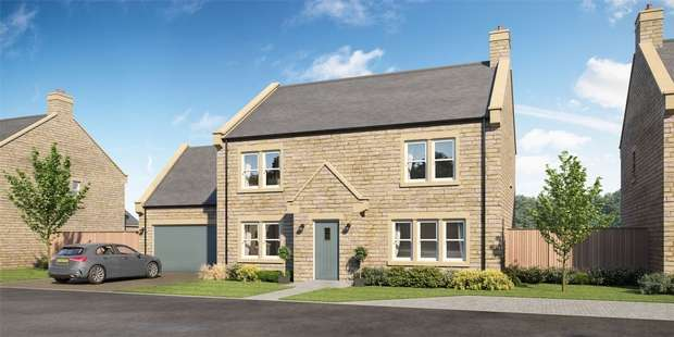 4 Bedrooms Detached House for sale in Plot 3, The Chesterwood Deluxe, Carter Dene, Lesbury, Alnwick, Northumberland