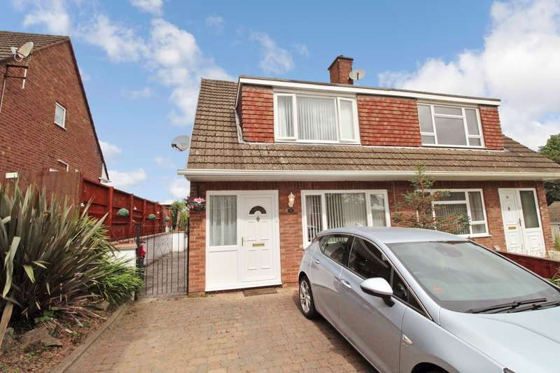 3 Bedrooms Semi Detached House for sale in Robertson Way, NEWPORT, NP20