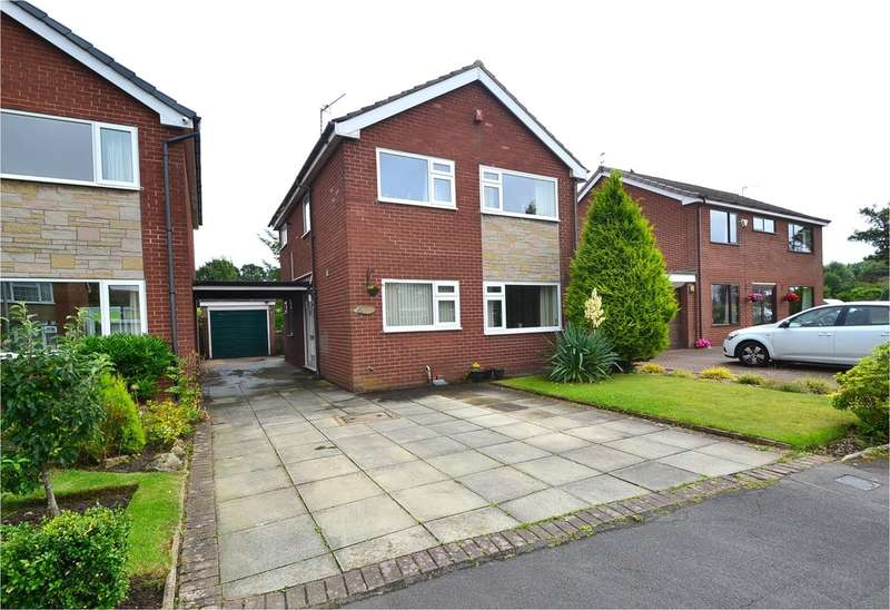 3 Bedrooms Detached House for sale in Sandown Road, Hazel Grove, Stockport SK7 4RT