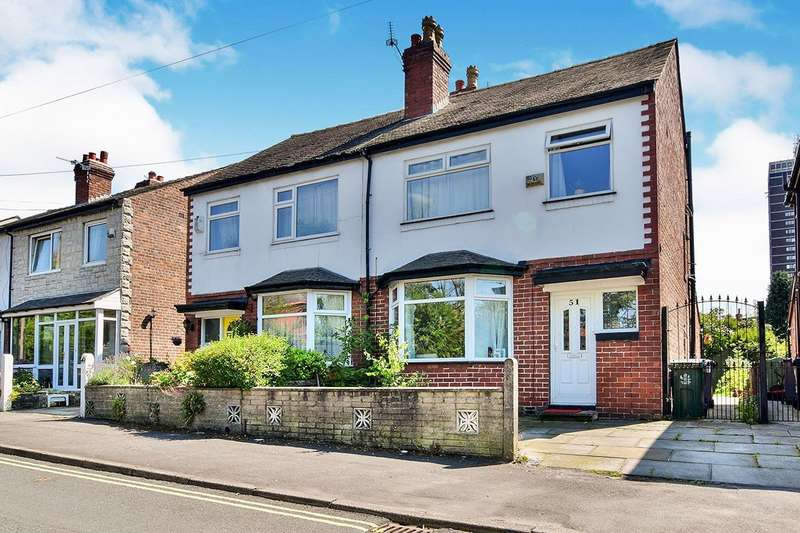 3 Bedrooms Semi Detached House for sale in Wellington Street, Stretford, Manchester, Greater Manchester, M32