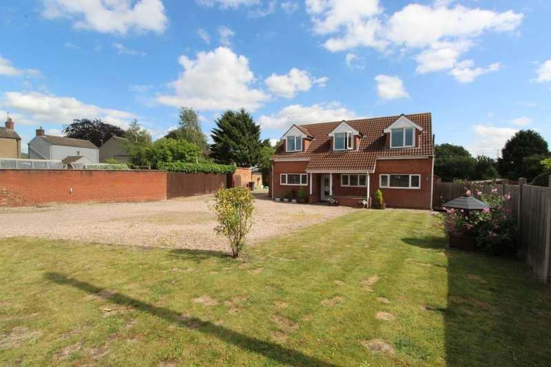 4 Bedrooms Detached House for sale in Clay Lane, Ellistown, Coalville, LE67