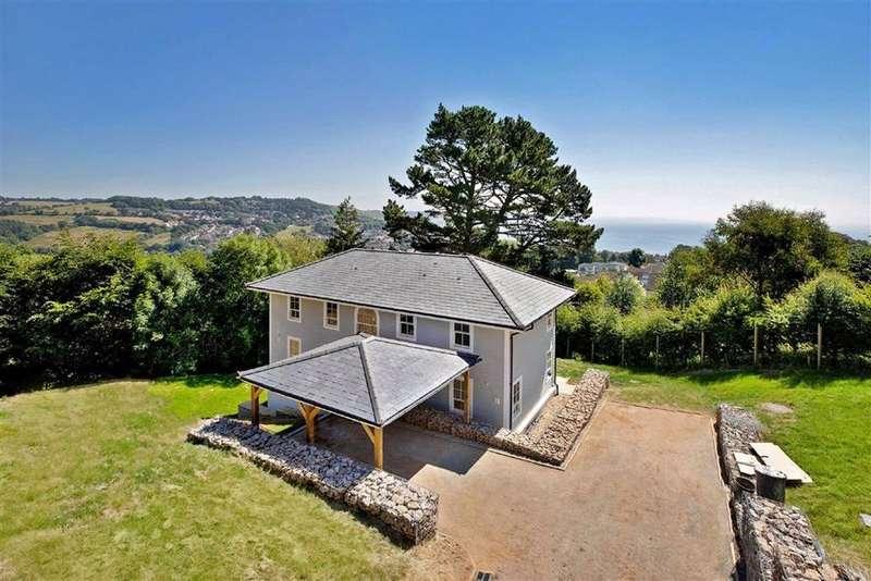 4 Bedrooms Detached House for sale in Portland Heights, Somers Road, Lyme Regis, Dorset, DT7
