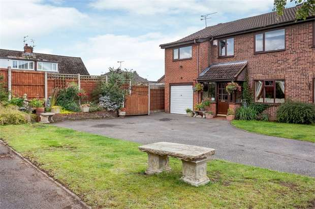 4 Bedrooms Semi Detached House for sale in Randle Bennett Close, Sandbach, Cheshire