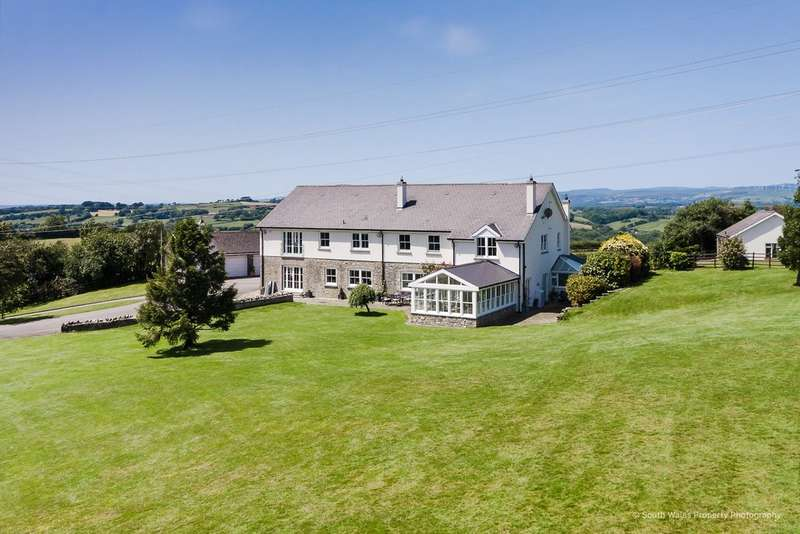 5 Bedrooms Detached House for sale in Near Cowbridge, Vale Of Glamorgan, CF71 7SX