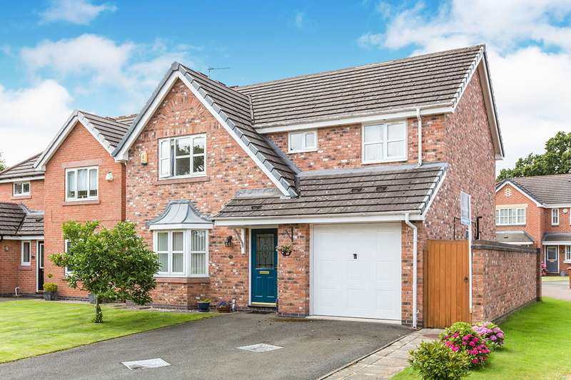4 Bedrooms Detached House for sale in Ryedale Way, Congleton, Cheshire, CW12