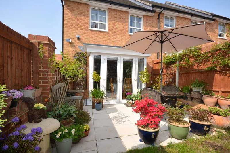 3 Bedrooms End Of Terrace House for sale in Albert Way, Whippingham