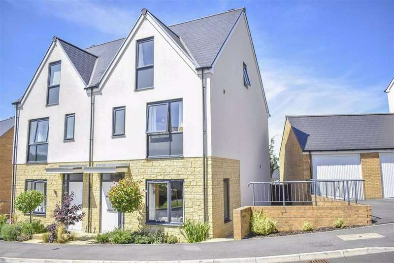 4 Bedrooms Semi Detached House for sale in Shearing Close, Dursley, GL11