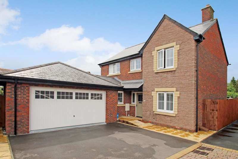 4 Bedrooms Detached House for sale in Croesonen Gardens, Abergavenny, Monmouthshire, NP7 6BJ