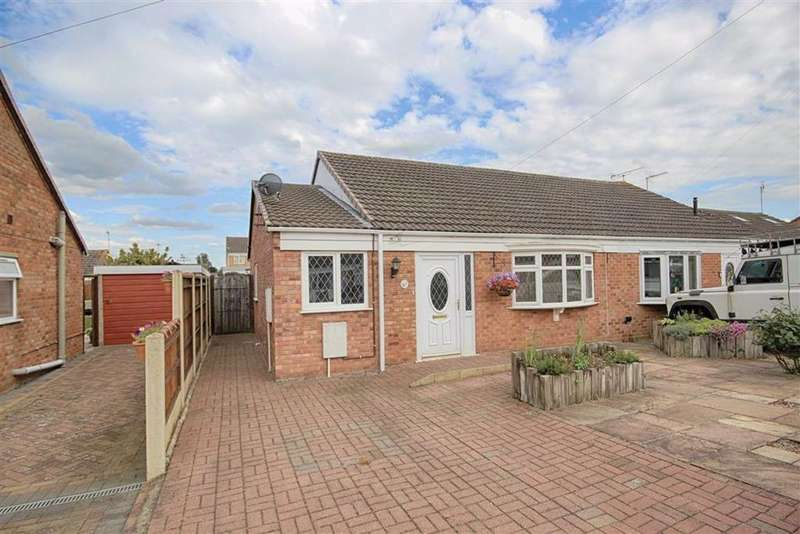 2 Bedrooms Semi Detached Bungalow for sale in The Apple Orchard, Northway, Tewkesbury, Gloucestershire