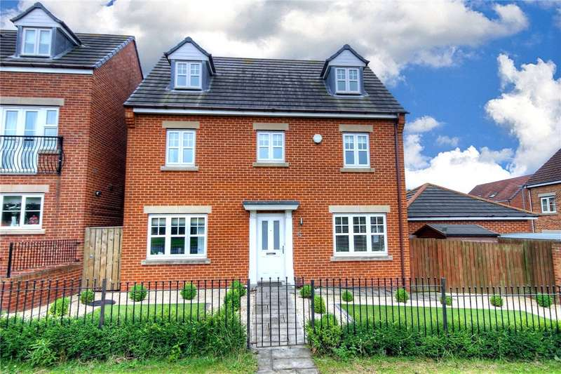 4 Bedrooms Detached House for sale in Ambleside Court, Chester Le Street, County Durham, DH3