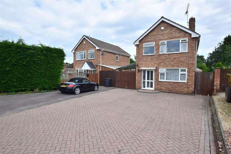 3 Bedrooms Detached House for sale in Spencer Close, Spencer Close, Hucclecote, Gloucester