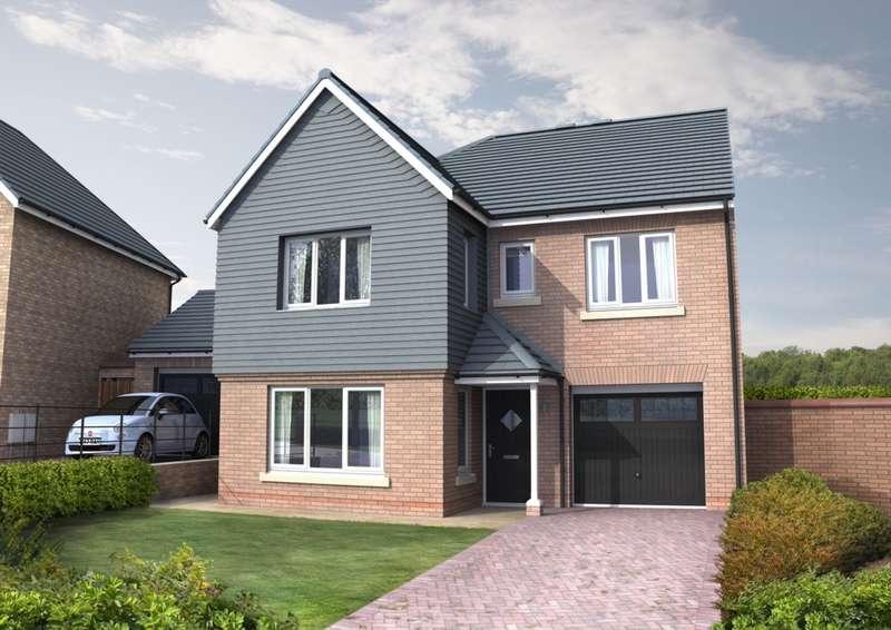 4 Bedrooms Detached House for sale in Cottier Grange, Prudhoe, NE42
