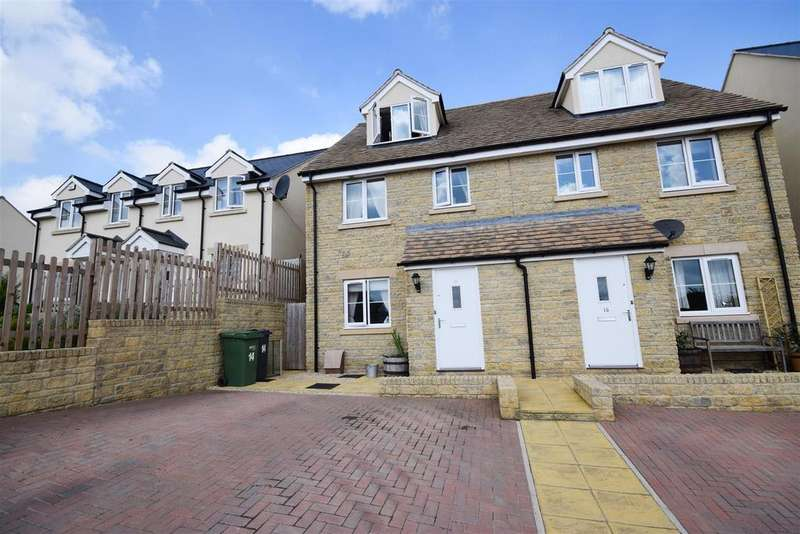 3 Bedrooms Semi Detached House for sale in Blenheim Rise, Randwick, Stroud