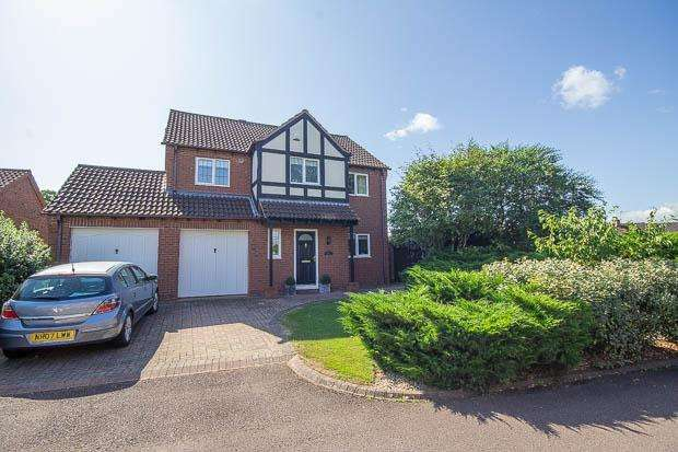 4 Bedrooms Detached House for sale in Sovereign Chase, Staunton, GL19 3NW